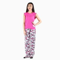 Hello Kitty Tank and Pants Set: Striped Bow