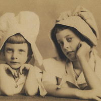Milkmaid Sisters Photograph by Paul Ashby Antique Image - Milkmaid Sisters Fine Art Prints and Posters for Sale