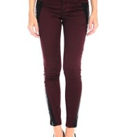 Tractr Pleather Insert Jegging