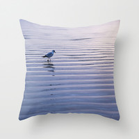 Contemplation Throw Pillow by Shawn King