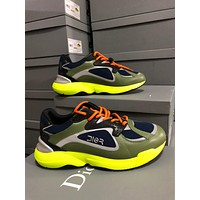DIOR Men Women Fashion Casual Sports Shoes