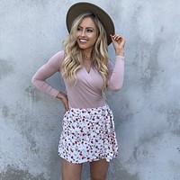 Floral Dreams Wrap Skirt