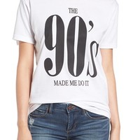 Kid Dangerous 'The '90s Made Me Do It' Graphic Tee | Nordstrom