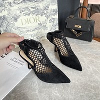 Dior Women's 2021 NEW ARRIVALS Fashion High-heeled Sandals Shoes