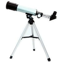 NUZAMAS Astronomical Telescope for Educational Science Refractor with Super Lightweight Tripod for Astronomy Beginners, Night Stars Watch,Focal Length 360mm, Aperture 50mm