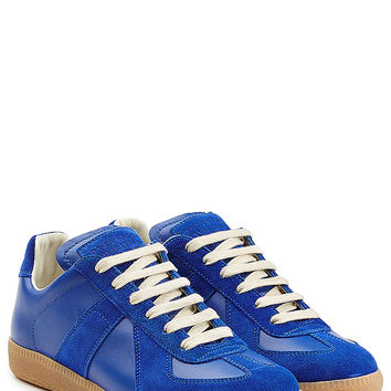 Maison Margiela - Leather and Suede Replica Sneakers