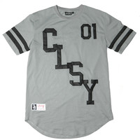 CLSY 01 MESH JERSEY GREY