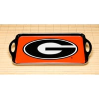 NCAA Georgia Bulldogs Melamine Serving Tray