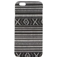 With Love From CA Black White Tribal iPhone 6 Case - Womens Scarves - Black - One