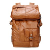 Stylish Casual College Back To School Hot Deal On Sale Comfort Korean Strong Character Black Men Backpack [6542310851]