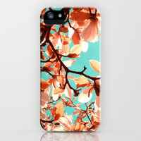 magnolia iPhone Case by blackpool | Society6