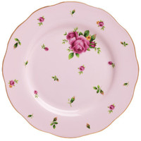 New Country Roses Pink Vintage Salad Plate, Royal Albert. Shop more from the Royal Albert collection at Liberty.co.uk