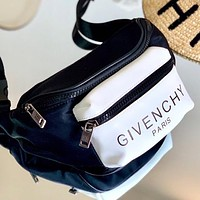 Givenchy New fashion letter print shoulder bag waist bag crossbody bag