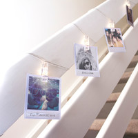 Polaroid Peg String Lights | FIREBOX