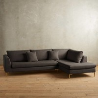 Linen Edlyn Right Sectional