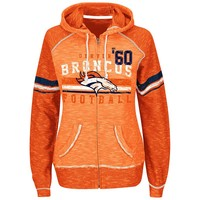 Majestic Denver Broncos Tame the Tide Fleece Hoodie - Women's, Size: