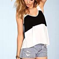 Colorblock Racerback Tank - Dream Tees - Victoria's Secret