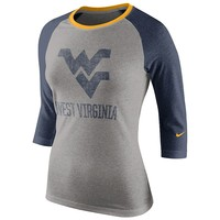 Nike West Virginia Mountaineers Colorblock Top - Women's