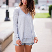 Summer Sweater Weather Top