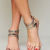 Jeffrey Campbell  Zoe Sandal at Free People Clothing Boutique