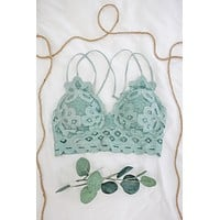 Love Affair Bralette - Seafoam