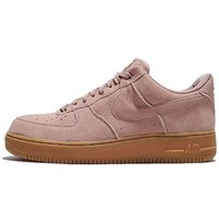 Nike Men's Air Force 1 07 LV8 Suede, PARTICLE PINK/PARTICLE PINK