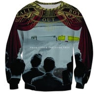 Fall Out Boy From Under The Cork Tree Album Cover Crewneck