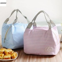 Women Kids Men Cooler Lunch Box Bag Insulated Canvas Lunch Bag for women Thermal Food Picnic Lunch Bags *35