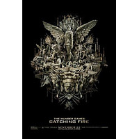 Hunger Games Catching Fire Movie Poster Puzzle Choose a size
