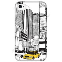 New York Times Square Cell Phone Case iPhone 3 3GS 4 4S 5 5S 5C Samsung Galaxy S2 S3 S4 Mini S5 Sony Xperia Z Blackberry Z10 Curve Bold HTC
