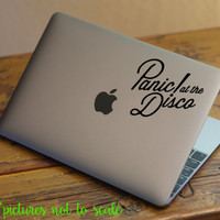 "FREE SHIPPING! - 4"" Panic! At the Disco Band decal 