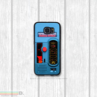 Missile Attack, Retro Handheld Game, Custom Phone Case for Galaxy S4, S5, S6