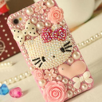 Hello Kitty Deco Phone Case for iPhone Samsung by AnnasPhoneCases