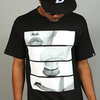 BREEZY EXCURSION ONLINE SHOP/STORE/SPENDING CENTER  — Lips Tits Ass Legs Tee Black