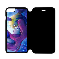 FLOUNDER AND ARIEL THE LITTLE MERMAID iPhone 6S Flip Case Wijayanty.com