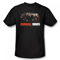 Criminal Minds - The Brain Trust T-Shirt Size XL