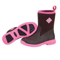 Breezy Cool Mid Muck Boots – Coffee Bean/Pink BMCT-944 (Remaining: Women's 6,8 )