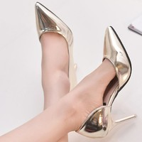 HOT NEW Women's Shiny High Heel Pumps