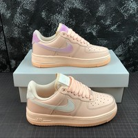 Nike Air Force 1 AF1 Low Crimson Tint / Orange Pulse Women's Sneakers - Best Online Sale