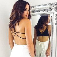 Bralette Summer Ladies Backless Sexy Bralette= 5895676673