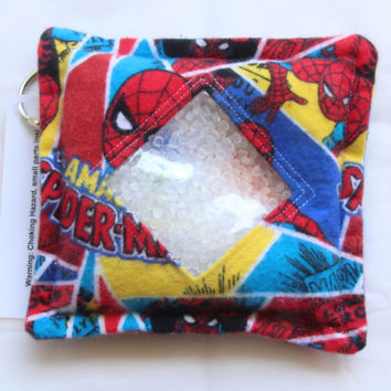 I Spy Bag with detachable item list, Spiderman, Amazing Siper-Man, Super Hero