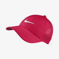 The Nike Perforated Women's Adjustable Golf Hat.