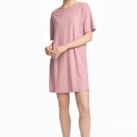 T-shirt dress - Vintage pink - Ladies | H&M CA