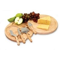 Picnic Time Circo Cheese Board with Cheese Tools
