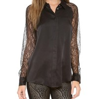 Quinn with Contrast Blouse