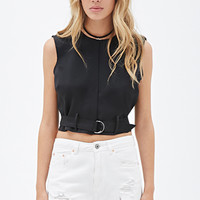 Boxy Belted Top