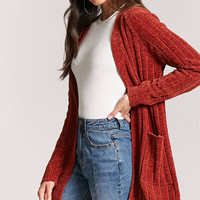 Ribbed Chenille Cardigan
