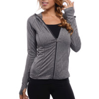 One More Lap Pullover - Grey