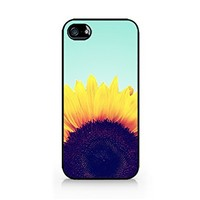 Vintage Sunflower - iPhone 4/4S Black Case:Amazon:Cell Phones & Accessories