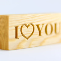 Personalized Valentine's Day gift, personalized wooden blocks, love letters, Valentine gift, personalized wooden letters, and a FREE GIFT!